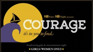 MY Voice event: Courage – It's in you to find